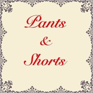 Jeans, Dress Pants, Shorts and More